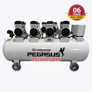 Máy nén khí không dầu giảm âm Pegasus TM-OF1100x4-300L