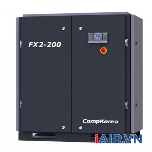 Máy nén khí trục vít Compkorea FX-200 (15kW - 20HP)