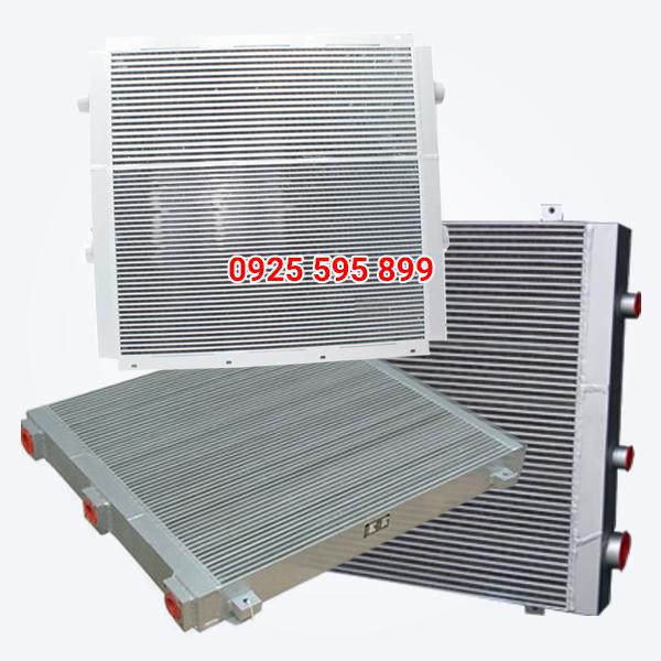 Két giải nhiệt máy nén khí trục vít Atlas Copco