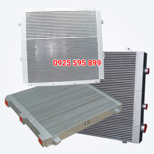 Két giải nhiệt máy nén khí trục vít Kobelco