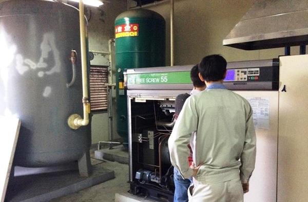Sửa máy nén khí Hitachi 55kW