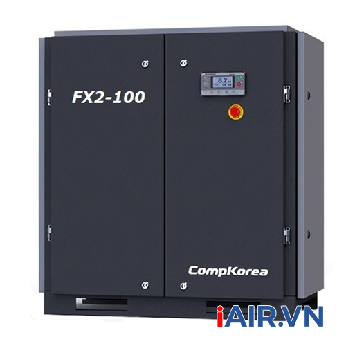 Máy nén khí trục vít Compkorea FX-100 (7.5kW - 10HP)