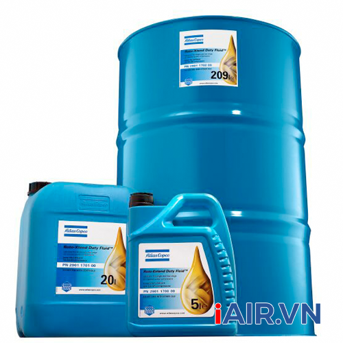 Dầu máy nén khí Roto Xtend Duty Fluid - 2901170200 (209 lít)