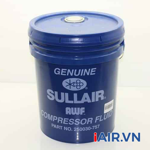 Dầu máy nén khí Sullair Genuine - 250030-757 (15 lít)