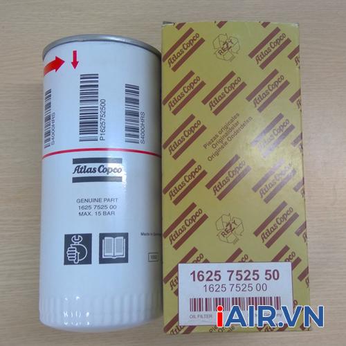 Lọc dầu máy nén khí Atlas Copco 1625 7525 00