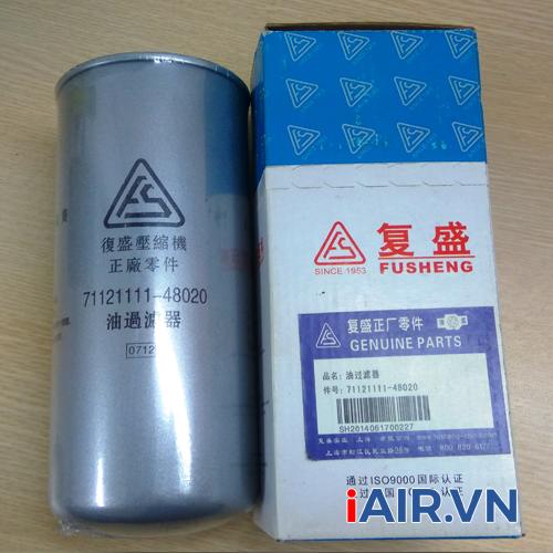 Lọc dầu máy nén khí Fusheng 71121111-48020