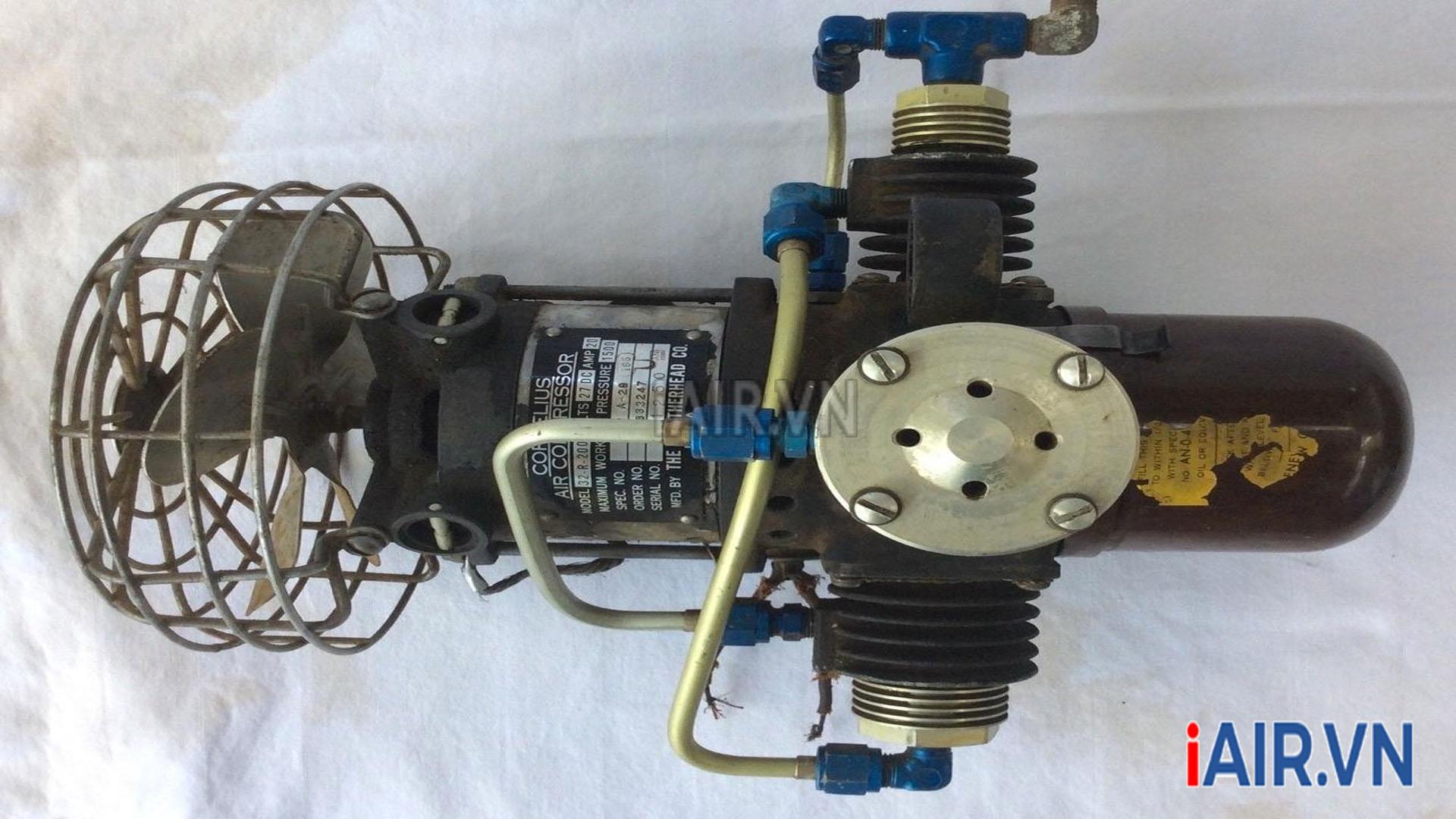 máy nén khí cũ bãi nhật